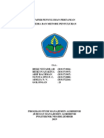 Penyuluhan Pertanian Paper
