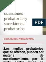 11 CUESTIONES PROBATORIAS Y SUCEDANEOS PROBATORIOSS.pptx