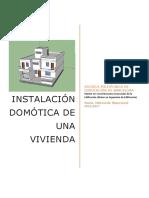 Instalación Domótica en una vivienda.pdf