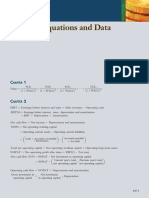 Appendix-C [Selected Equations and Data]