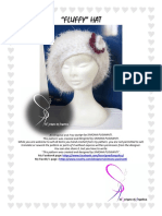 Fluffy Hat Pattern Eng