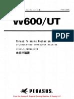 Pegasus W600UT Instruction Manual.pdf