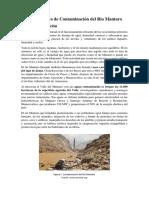 Rio Mantarooo - Contamina
