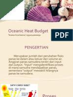 Oceanic Heat Budget