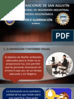 Vision e Iluminacion en Ergonomia