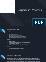 japanese reforms
