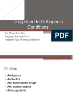 Drug Used in Orthopedic Conditions