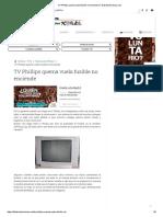 TV Phillips Quema Vuela Fusible No Enciende _ Fallaselectronicas.com