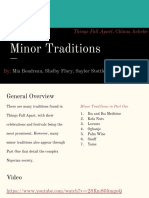 minor traditions in igbo society