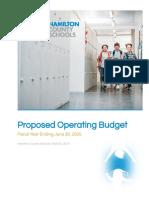 HCDE 2020 Proposed Budget