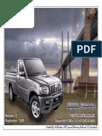 SCORPIO PIK-UP MAHINDRA PIK-UP (SC DC) LHD DIESEL CHAIN DRIVE NEF CRDe 2.6 2WD 4WD - VER 2 - SEPTEMBER 2.pdf