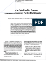 changing in spirituality among the ayahuasca novices.pdf