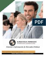 Información de mercados y entorno online