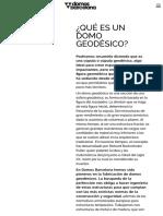 ¿Qué es un domo geodésico? |.pdf