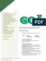 GOA Medical Fee Schedule