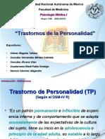 BI. Trastornos de Personalidad-RT