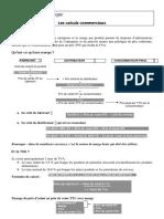 Fiche Outils Calculs Commerciaux Les Formules