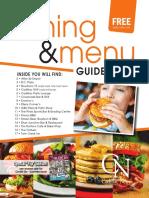 Cadillac News - Dining & Menu Guide Spring/Summer 2019