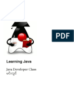 Learning Java by Min Lwin