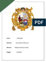 Parámetros de La Cuenca