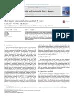 Heat transfer characteristics in nanofluid—A review