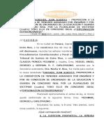 Excarcelación de jefe scout Juan Forcher (2019)