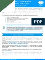 Fiche Outils Etape 5 - Cadrer Le Projet