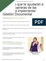 Tácticas para la Gestión Documental