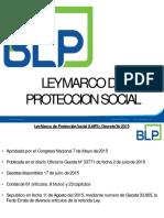 Ley Marco Seguridad Social Ppt