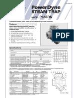 steam trap datasheet tlv type P65SRN