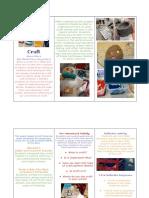 craft brochure