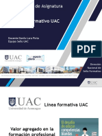 Sello Formativo UAC