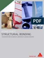Sika Advanced Resins Structural Adhesives Brochure en Web