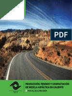 Producción,Tendido y Compactación de Mezcla Asfáltica en Caliente.pdf