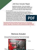 1999 ML320 Door Actuator Problem