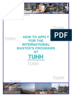 How to Apply at TUHH General 2019