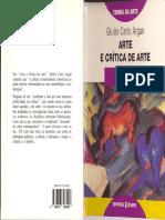 Argan - Arte e Critica de Arte - Segunda Parte
