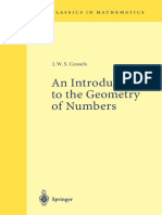1 Cassels - an introduction to Geometry of Numbers.pdf