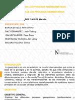 Procesos Postmagmáticos y Sedimentarios