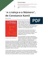 A Crianca e o Numero de Constance Kamiipdf