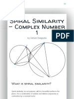 Spiral Similarity - Complex Number 1 - Cheenta
