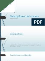 Descriptores Del Cacao