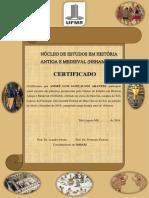 Modelo de Certificado NEHAM