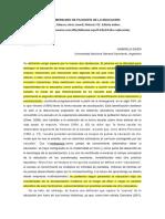 Diker - Definición de Educación (Diccionario Iberoamericano de Filosofía de La Educación)