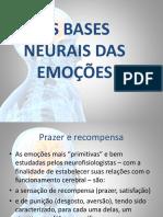 Bases Neuronais Das Emoções