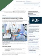 Bacteriuria Asintomática_ Guía 2019