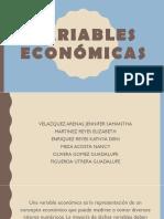 Variables Económicas
