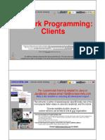 24 Java Network Programming Clients