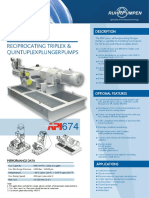RDP Reciprocating Plunger Pump OPB En