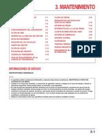 Manual de Mantenimiento Honda Tornado XR250